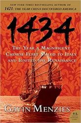 Billede af bogen 1434 - The Year a Magniphicent Chinese Fleet Sailed to Italy and Ignited the Renaissance