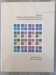 Billede af bogen Manual: A Guide to Development and Use of the Myers-Briggs Type Indicator