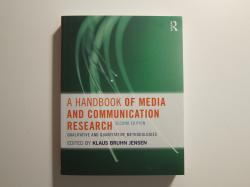 Billede af bogen A Handbook of Media and Communication Research