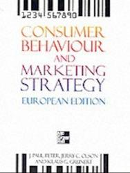 Billede af bogen  Consumer Behavior and Marketing Strategy - European Edition